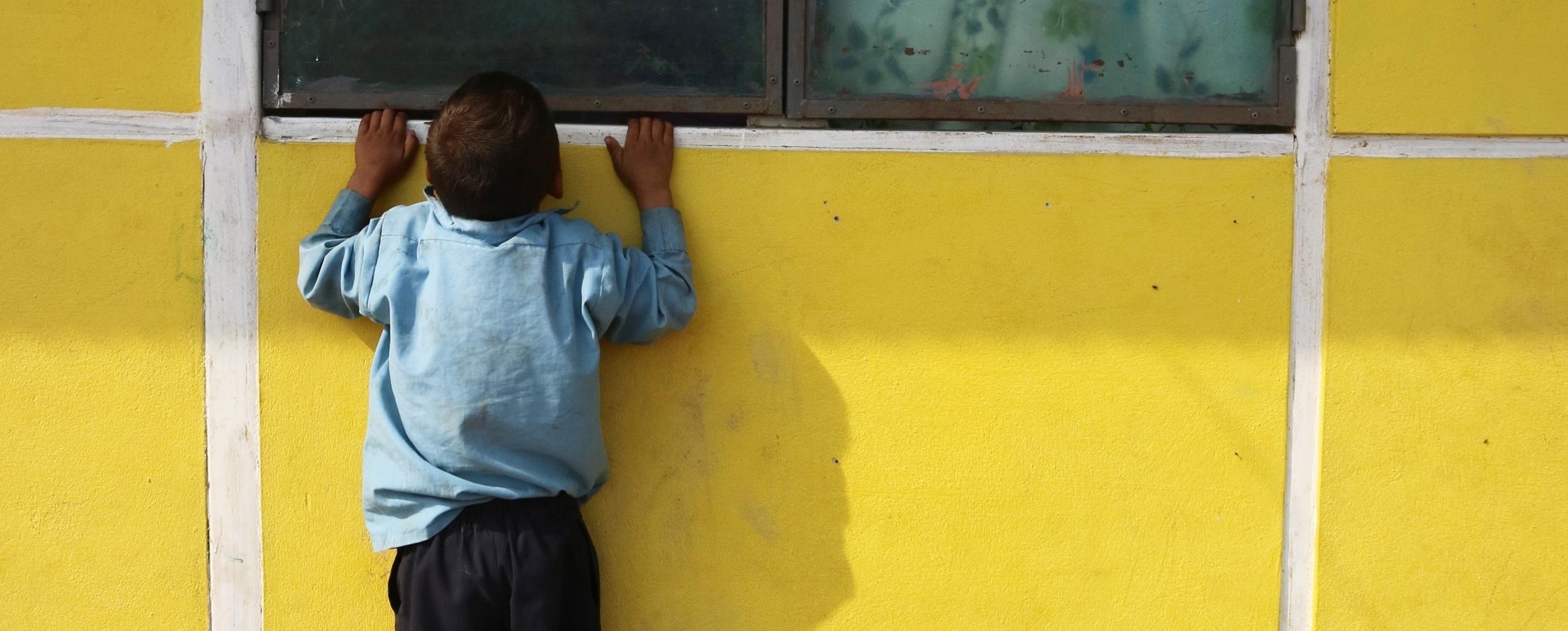 Rural school in Nepal