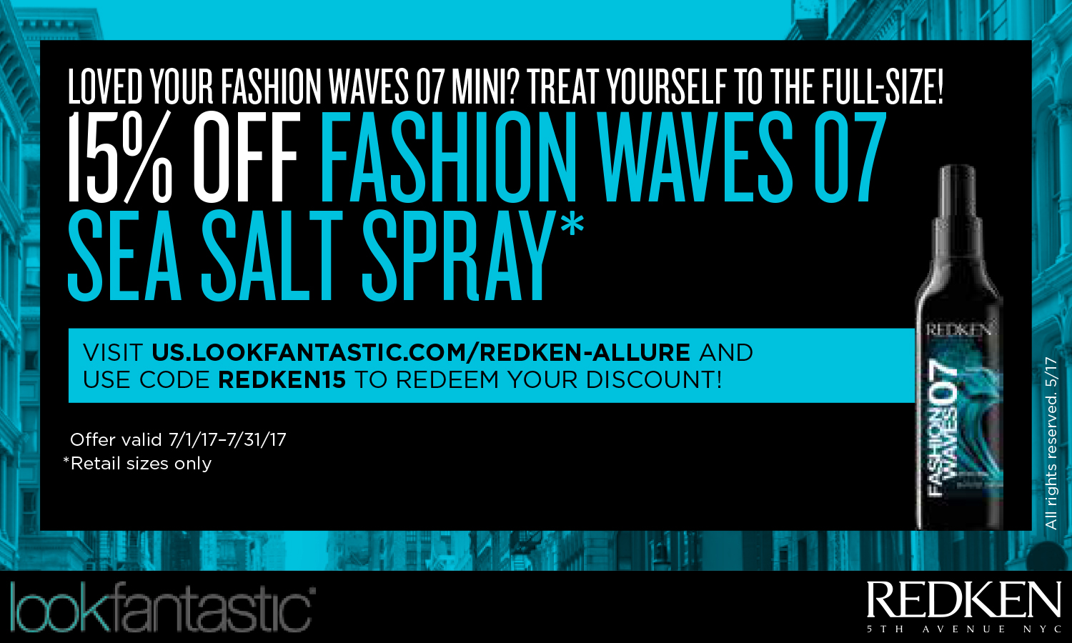 Redken Retail Collateral