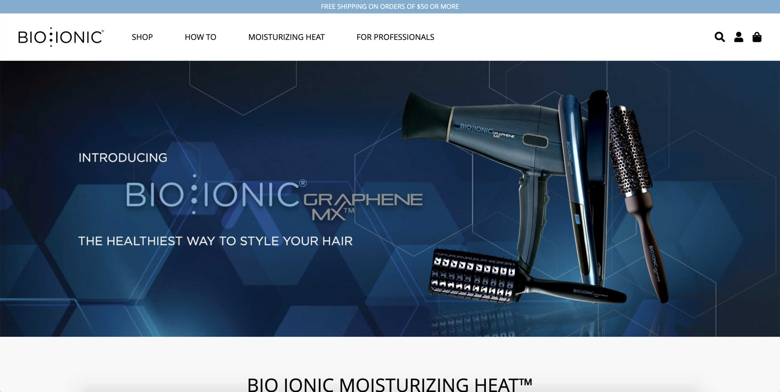 Bio Ionic Website