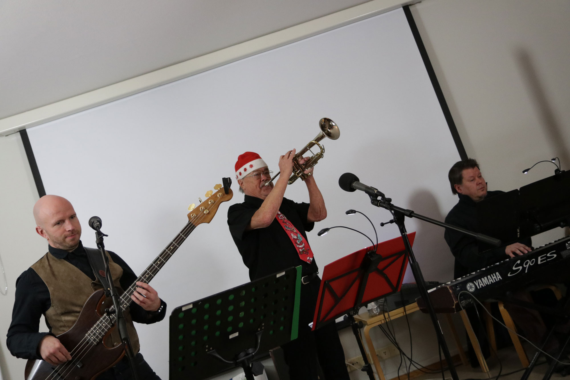 #bandRMM Marko Kuusela, Risto Pellava ja Marko Taipale. ©NATASHADESIGNFI