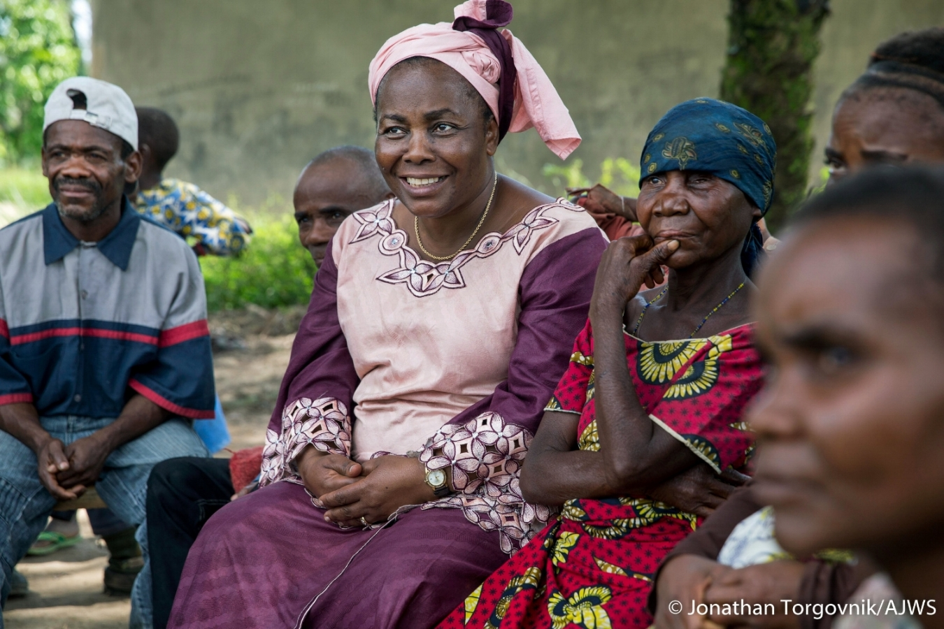 Julienne Lusenge, our partner in the Democratic Republic of Congo, received the 2018 International Women's Rights Award