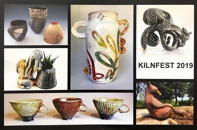 i'm super excited to be firing up at @watershedceramics this weekend with some pals including @tim.christensen.77 & @p.drisco — we'll be having a public kiln opening next weekend october 5th and 6th for maine craft weekend, hope to see ya there!! 🌀🏺🌟