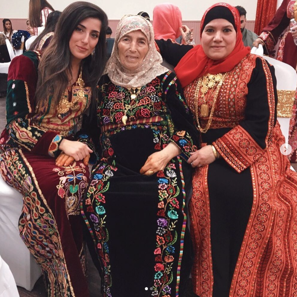 Dounya and her family