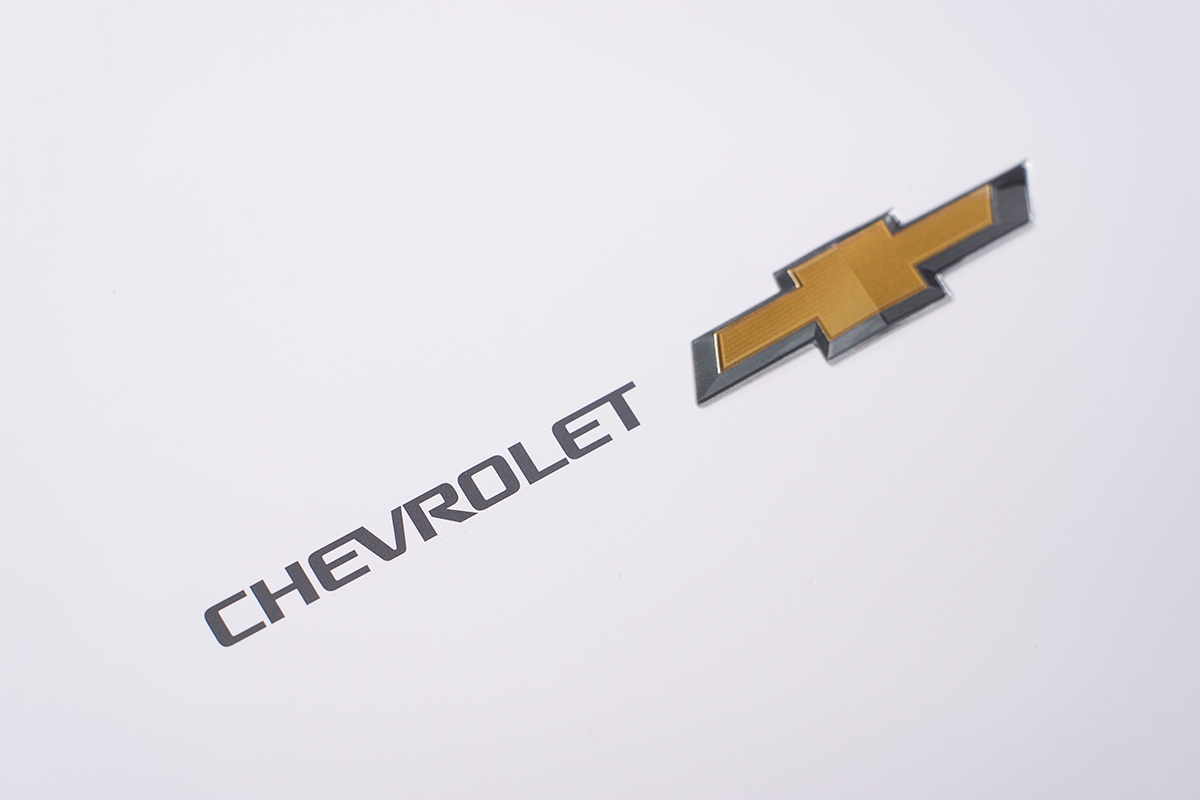 Chevrolet Brochure Cover