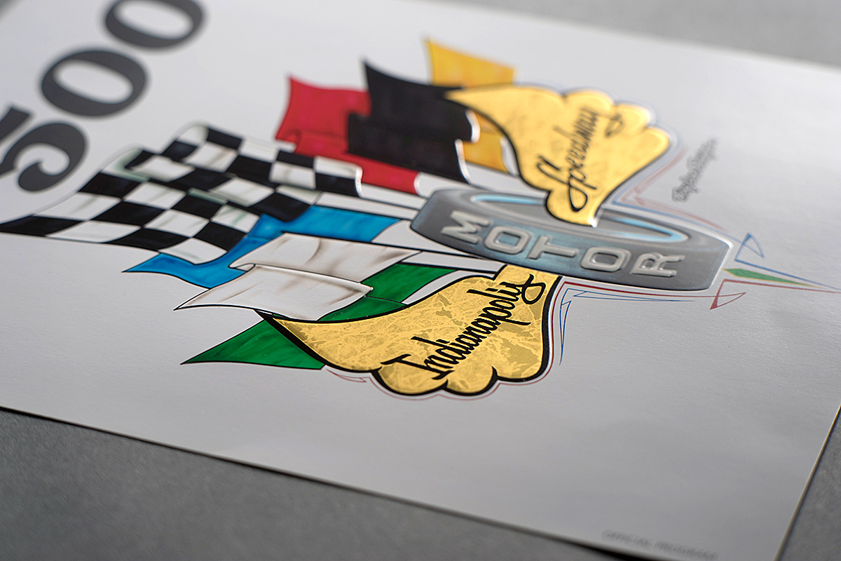 Indy 500 Flyer Detail