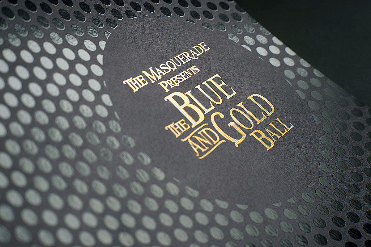 The Blue and Gold Ball