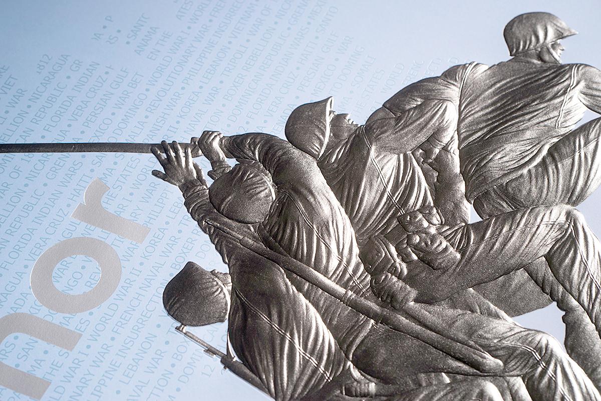 Iwo Jima Emboss