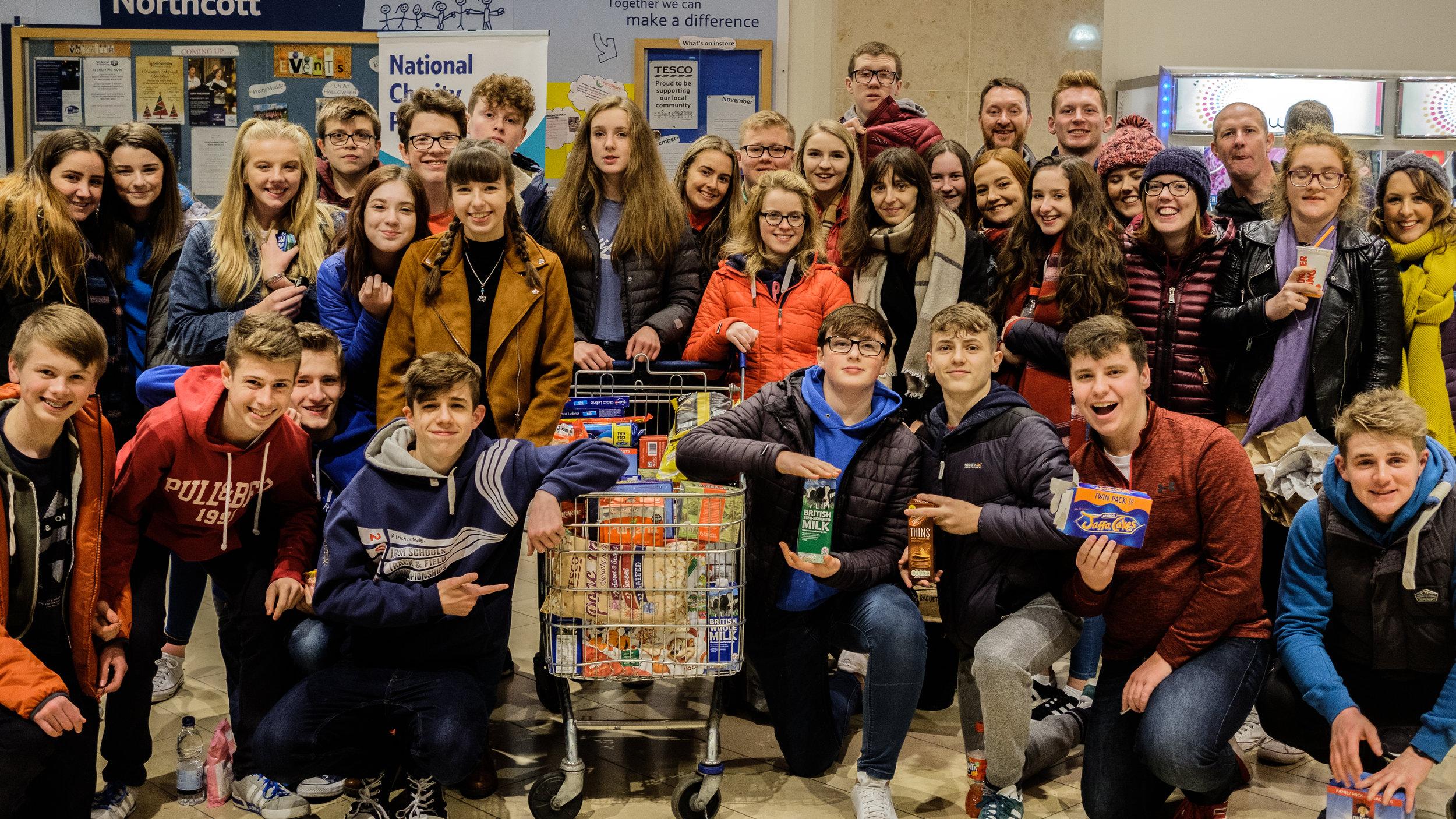 Christmas Foodbank collection