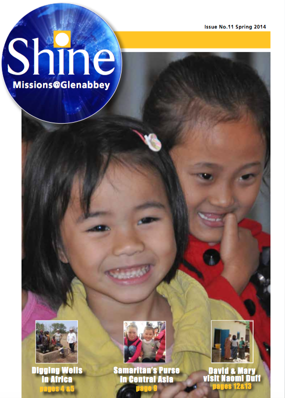 Shine Issue 11 - Spring 2014