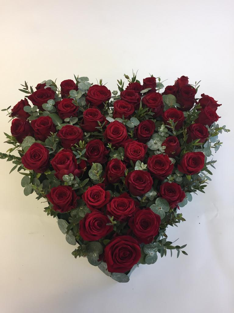 XL Red Rose Heart  £110