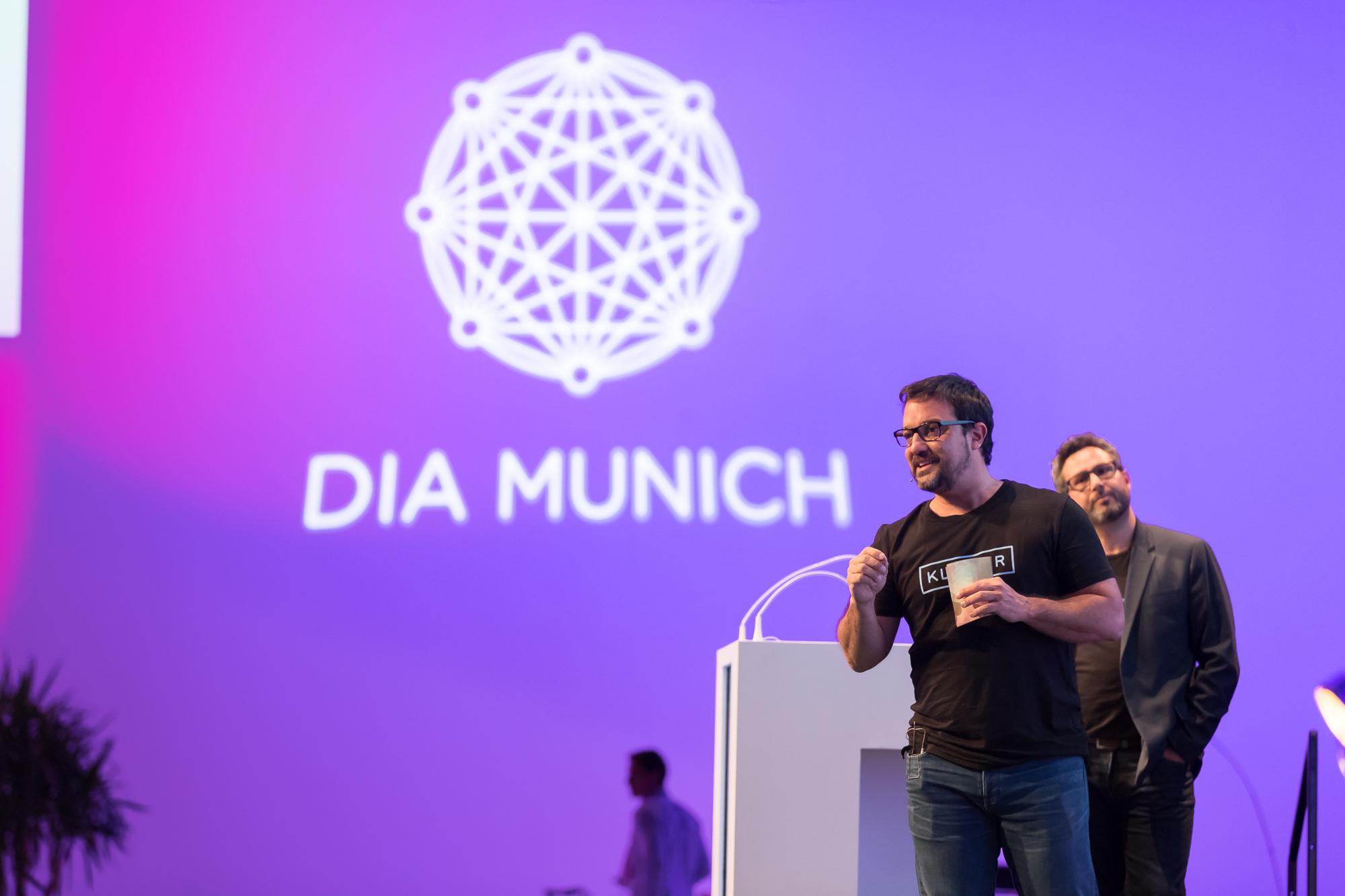 Klimber en DIA Munich