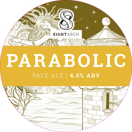 Parabolic - American Pale Ale 4.5% // Eight Arch Brewing Company - This was another fine pale ale that I had at The Hole in the Wall, Portsmouth. A refreshing number from Eight Arch Brewing Company in Dorset. Apparently a Parabolic is a type of arch so I learnt something new there too. Must make an effort to try more of their beers and learn more about arches.