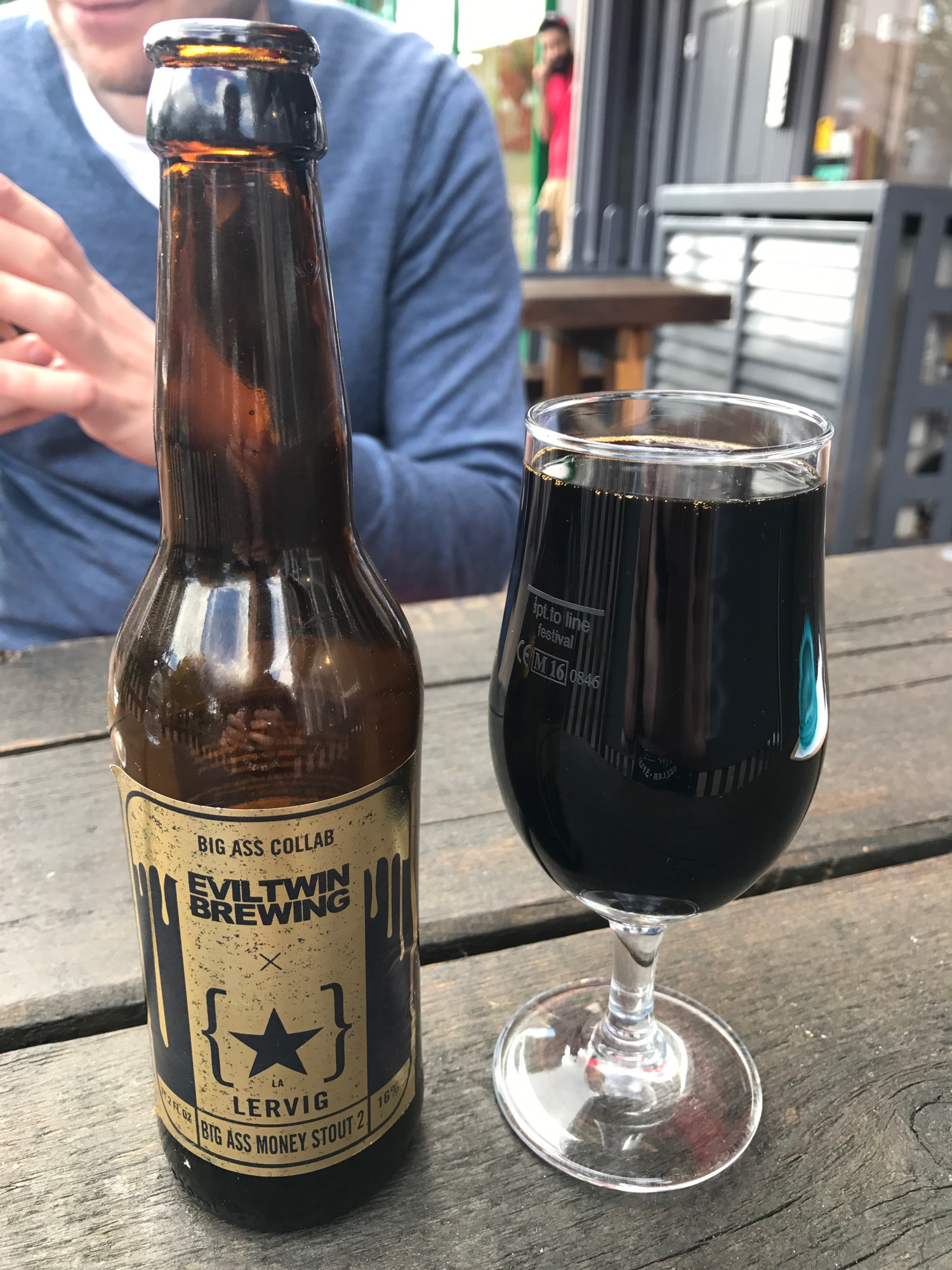 Big Ass Money Stout 2 - Imperial Stout 16%  // Lervig x Evil Twin Brewing  - And you thought the Paradox Rye was going to be the strongest beer this month. Think again. I professed my love for this in the Peckham write-up, go check it out there.
