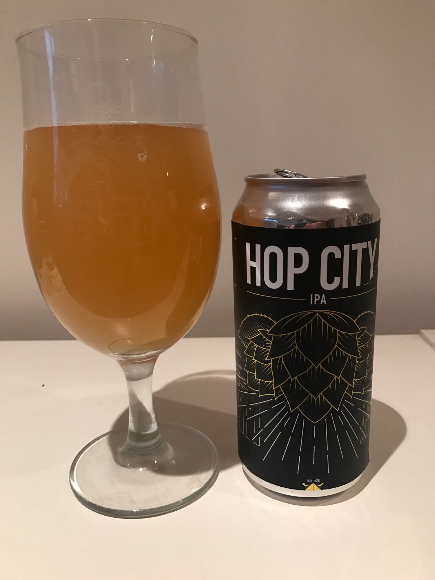 Hop City - American IPA 6.2% // Northern Monk x Cloudwater Brew Co. - Created for Hop City Festival in Leeds is this incredible IPA. It's very close to a DIPA in style but just doesn't have the bitter finish which makes it very dangerous and very chinnable.I also loved the can design. The logo itself is pretty cool but the label could be peeled off and contained information on the festival which I thought was a nice detail.