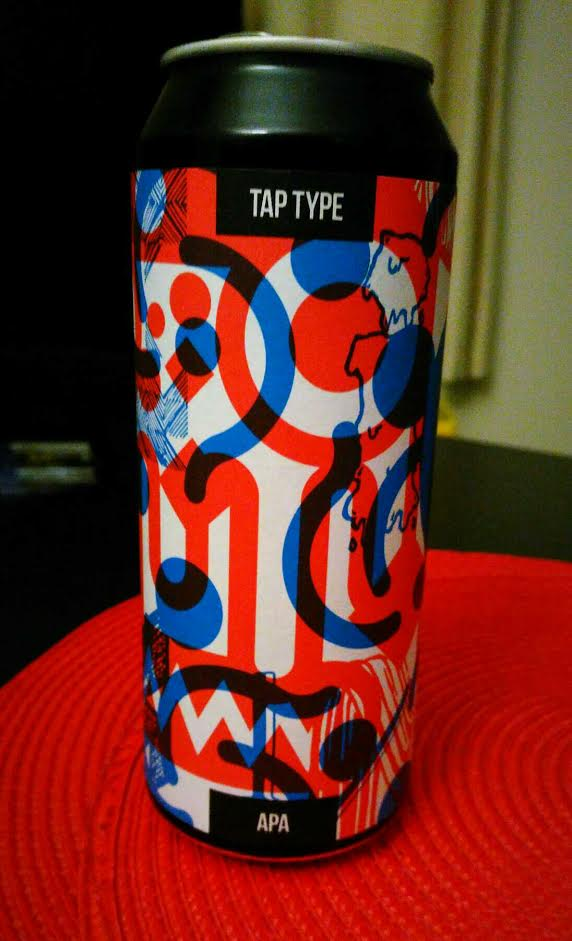 Tap Type - American Pale Ale 6% // Magic Rock - Magic Rock have done it again. Smooth, drinkable and juicy with fruity citrus flavours in this American Pale Ale.The abstract art of Magic Rock's cans don't give much away and it's always fun waiting to see what they have in store. Brewed to celebrate a typography project created by Magic Rock designer, Rich Norgate, this APA was a pleasant surprise - well rounded and enjoyable, the type of beer you don't want to end.