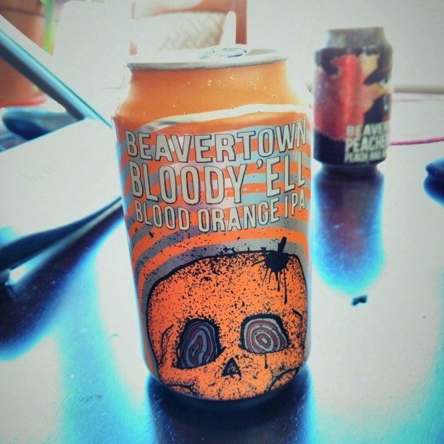 Bloody 'Ell - American IPA 7.2% // Beavertown - I had been waiting to get my hands on this year's version for some time and finally tracked a can down last month. Having heard mixed things about the beer I was a bit unsure what to expect. I'm pleased to say that I found it thoroughly enjoyable, juicy with just a hint of orange (definitely not overpowering). At 7.2% it's pretty strong for an IPA and I could definitely taste the alcohol in this.