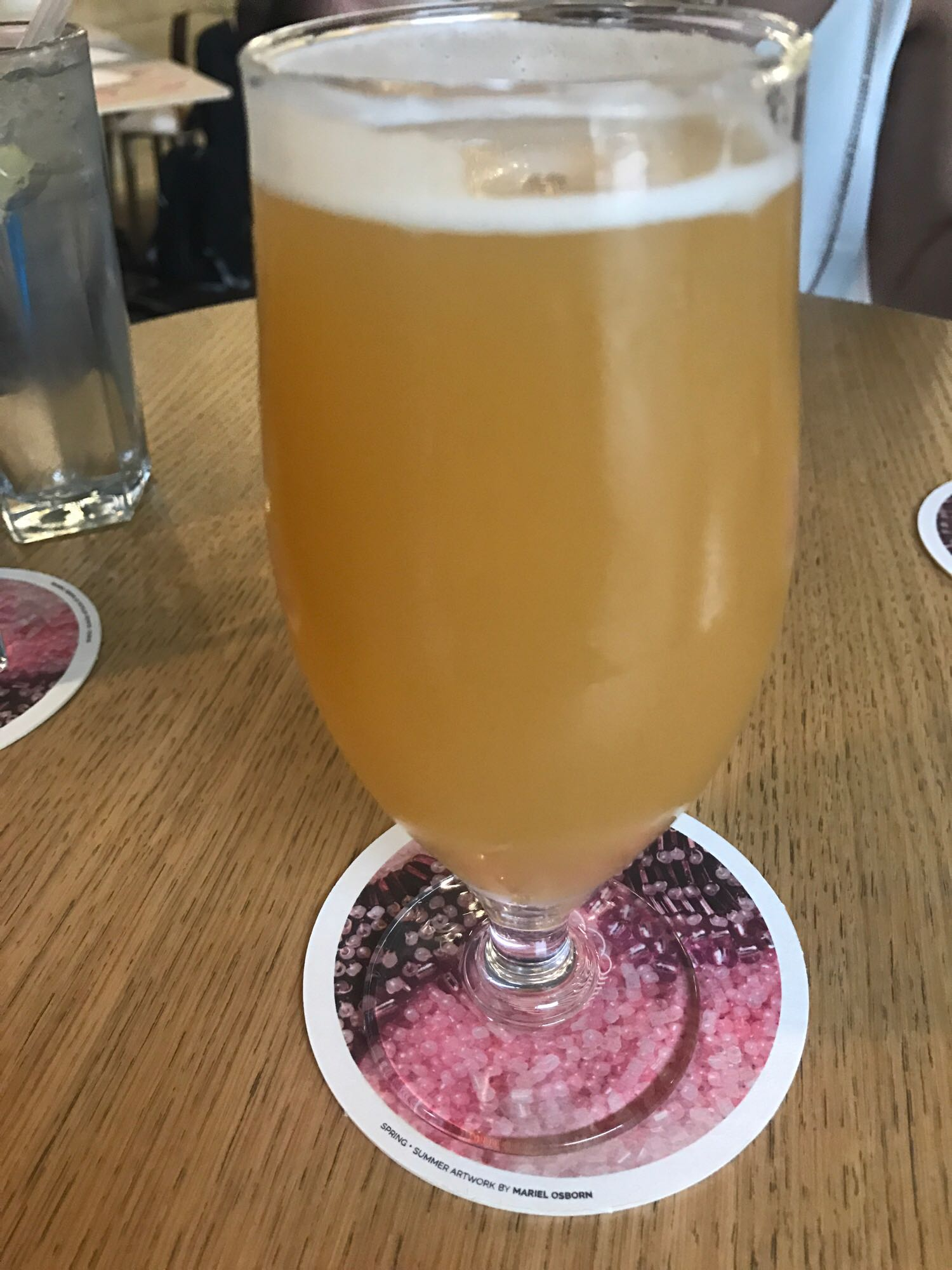 DDH IPA Citra - American IPA 6% // Cloudwater Brew Co. - Here comes my favourite beer from our visit to the Tate Modern for the Cloudwater Tap Takeover . Pretty much alcoholic fruit juice, this was dangerously drinkable and went down extremely easily. There was a surprising watermelon-esque aftertaste that made me actually say 'wow' as I didn't expect it but once it had settled, I couldn't stop drinking it. The perfect beer for a summer's evening. I may have had three of these.