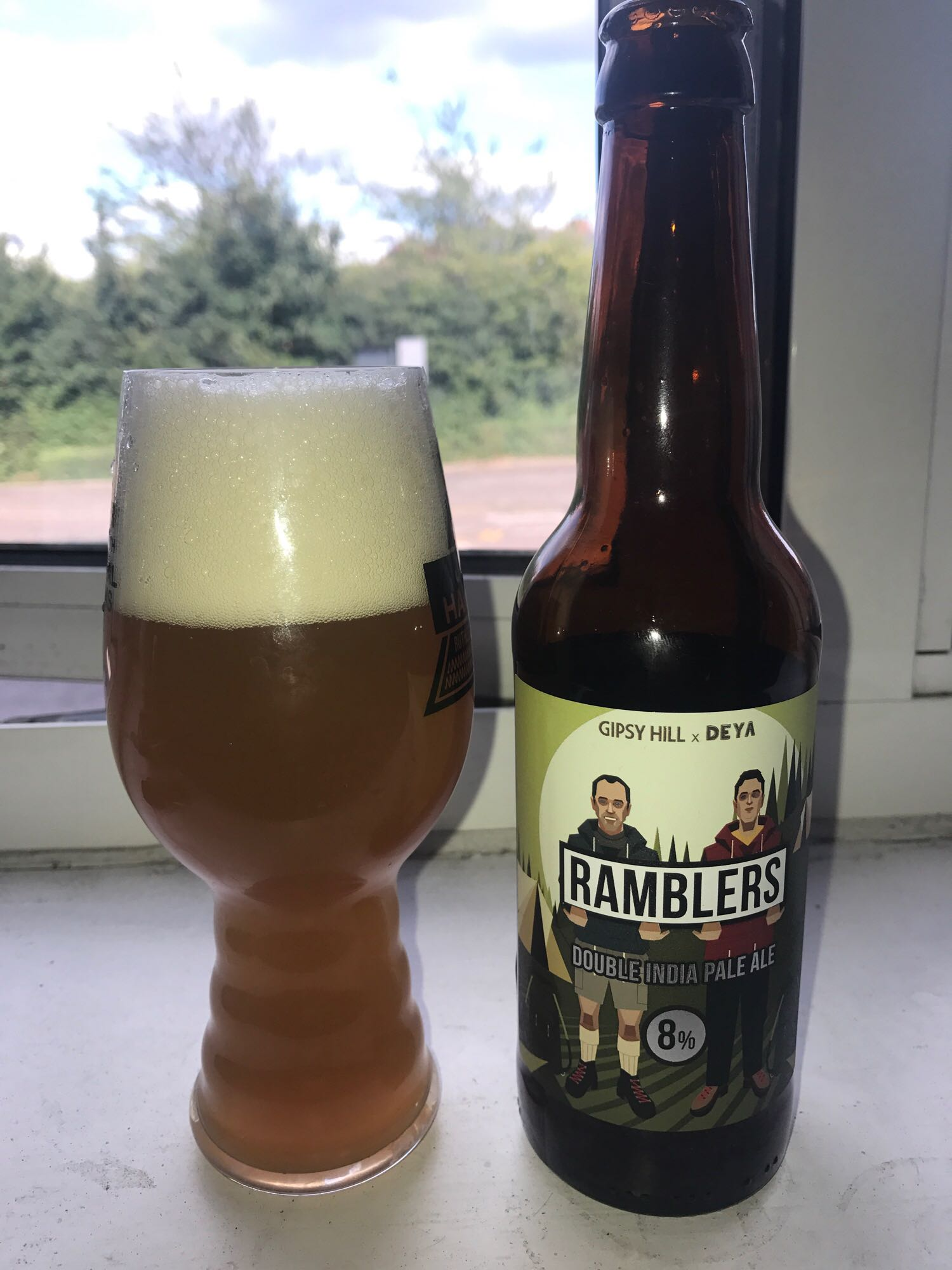 Ramblers - Double IPA 8% // Gipsy Hill Brewing Co. x DEYA Brewing Company - I tried to steer clear of picking too many DIPAs this month after the love-in in June but couldn't resist adding this collab between Gipsy Hill and DEYA. Thick and oaty, this was so smooth and had such a well-rounded flavour that, as much as I wanted to savour it, I had chinned it in a very short space of time. I just wish I'd bought several more bottles. DEYA are building themselves a nice little reputation for such a new brewery and I feel their influence on this beer is why it's so good. I've had several Gipsy Hill beers in the past and none have really struck me quite as much as this one has.