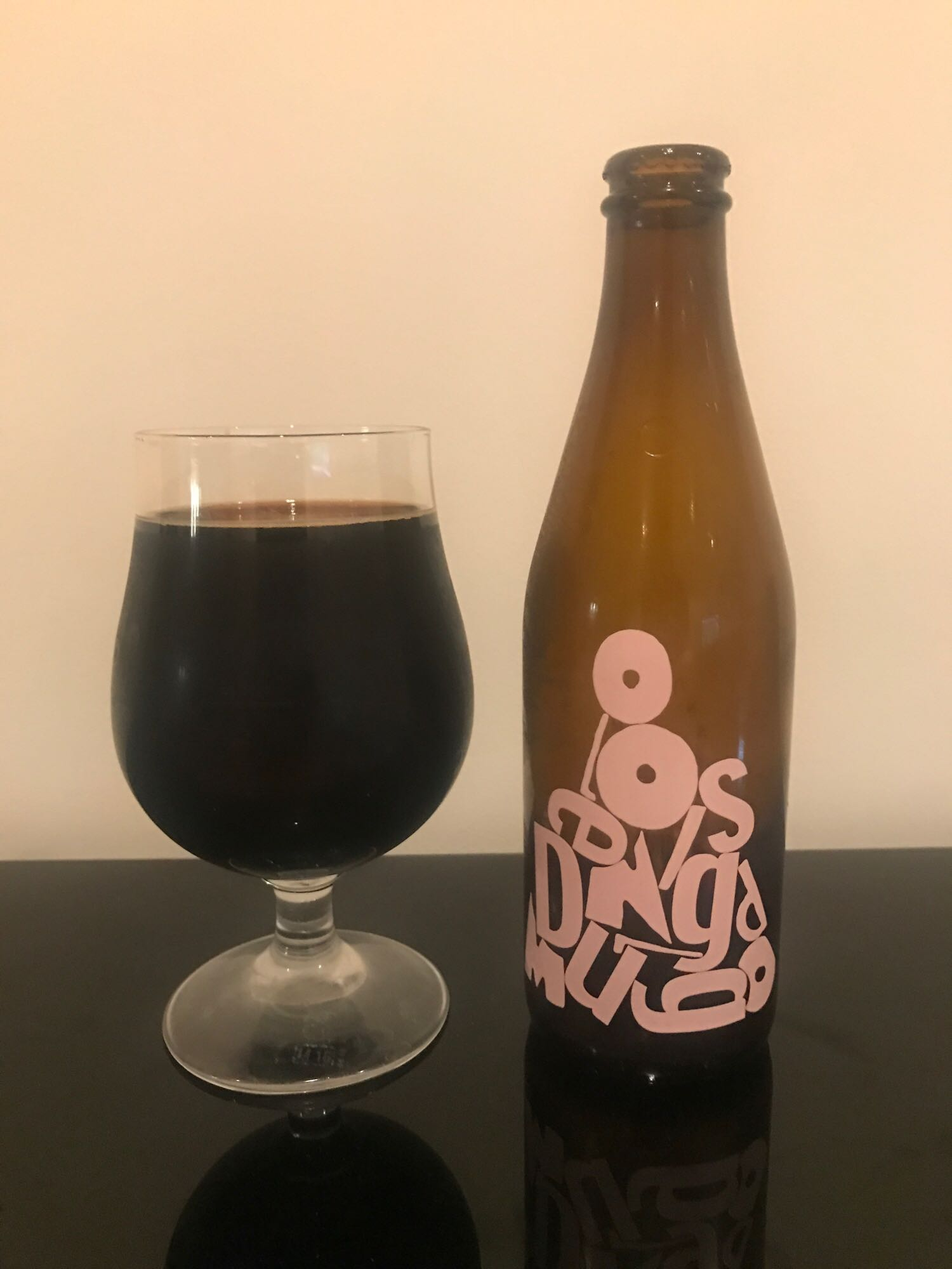 Anagram Blueberry Cheesecake - Imperial Stout 12% // Omnipollo x Dugges Bryggeri - This beer has been sitting in my fridge for months, waiting for the right time to try it. But what better place than here? What better time than now? ALL, HELL, CAN'T STOP US NOWAhem. Anyway, this is pretty much the ultimate dessert beer. All of the blueberry, all of the cheesecake, all of the stout. I would totally believe someone if they told me that Omnipollo and Dugges had liquidised a blueberry cheesecake and mixed it with an impy stout to make this.It is very sweet but really, what do you expect from a blueberry cheesecake stout? It's meant to be decadent, you're probably not meant to drink more than one. Why are you still reading this and not drinking one immediately? Come back and thank me later.