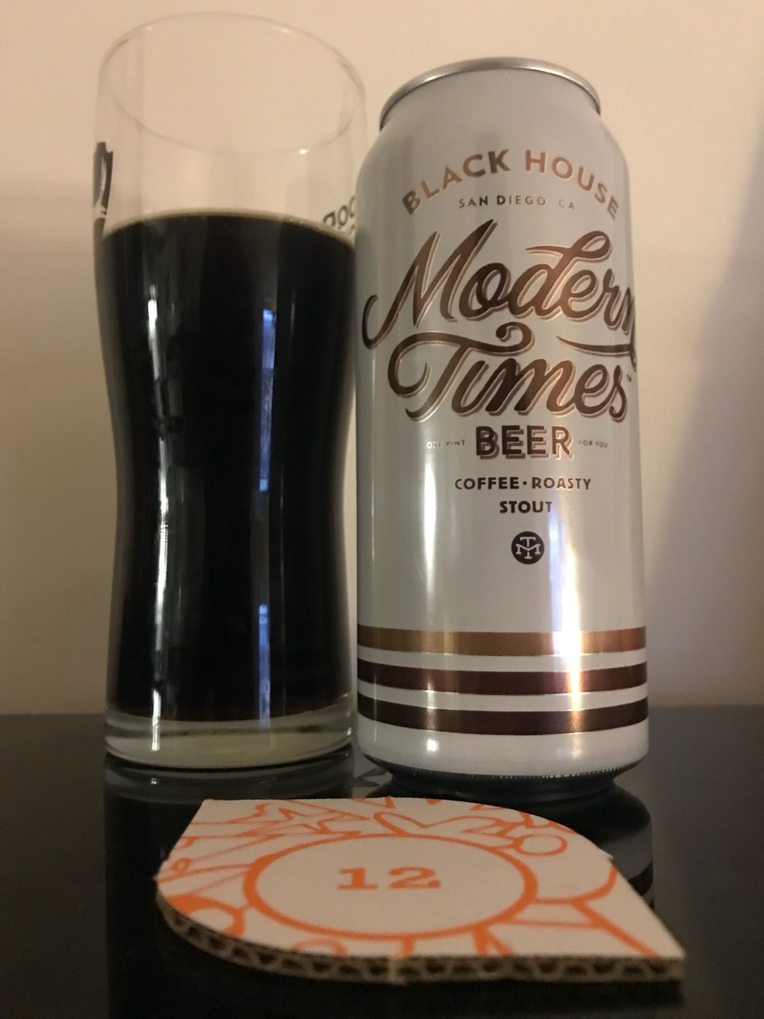 Day Twelve: Black House - Oatmeal Stout 5.8% // Modern Times Beer - Just like buses, two stouts turn up at once. This is a way better stout than yesterday's (even though I enjoyed that). It's way more nuanced in flavour but has much more depth to it. The coffee is still prominent but it has a hint of chocolate throughout which makes it very enjoyable. San Diego's Modern Times are one of the only breweries in the world to roast their own coffee which I thought was pretty cool. As I'm not a big coffee drinker, I'm pleased they decided to chuck some of it into a beer. I've had several Modern Times beers but definitely need to try more. I imagine this is wonderful on tap. We're at the halfway point now and I'm pretty happy with the range of beers and styles so far. Amazingly, still yet to have a beer in here that I've had before (the Orval doesn't count as it's the 2017 version)!