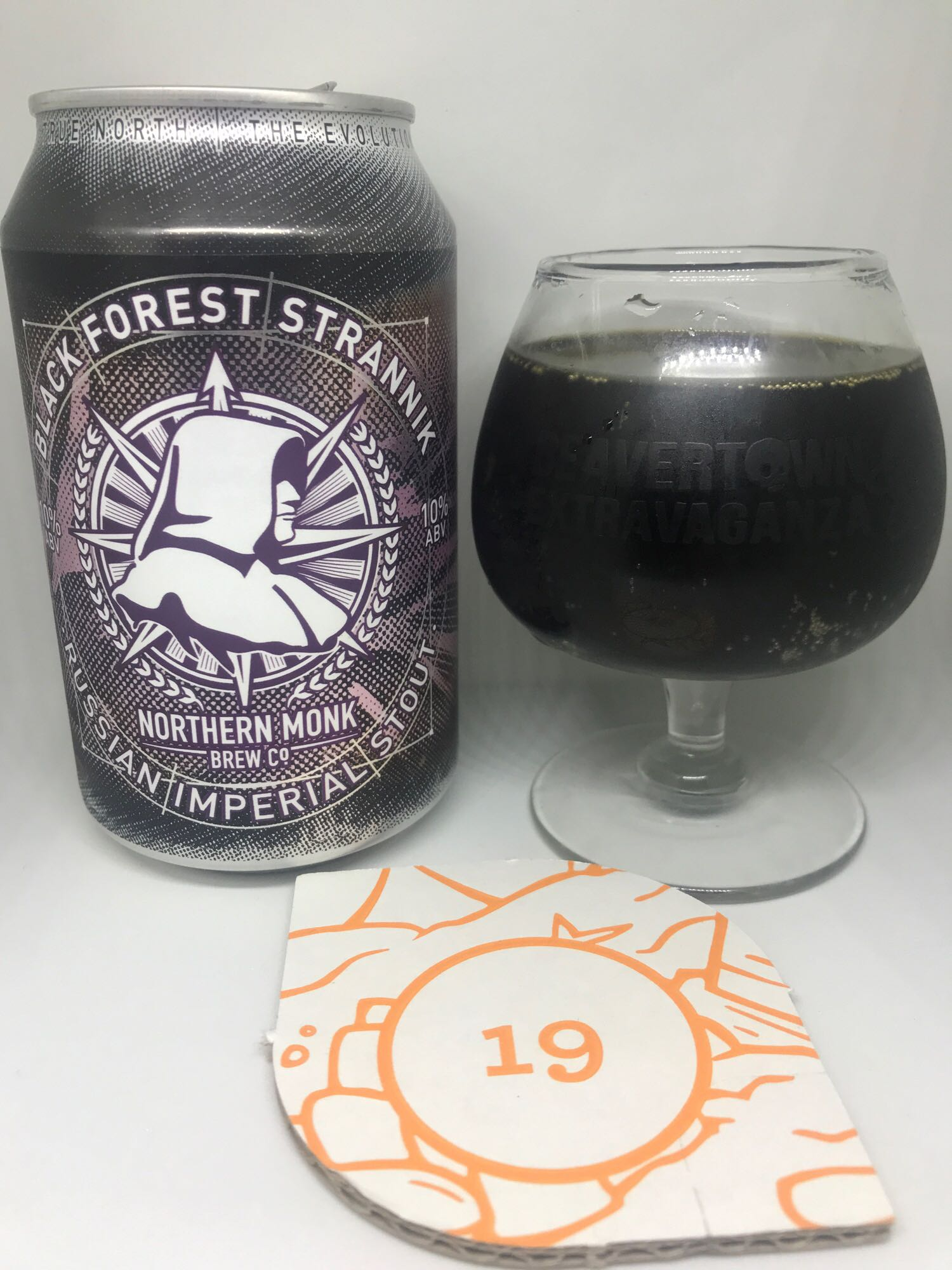 Day Nineteen: Black Forest Strannik  - Russian Imperial Stout 10% // Northern Monk - What a beautiful beer. I'm yet to have the regular Strannik but this version is up there with any of Northern Monk's beers. Inspired by a Black Forest Gateau, this beer is an excellent beer for a nightcap. There's an abundance of chocolate, vanilla and cherry here all rounded off with the bitterness you'd expect from a stout. I don't really want to wax lyrical about this beer anymore than I have for two reasons:1. I'm halfway through the can and am struggling to find the words. 2. I want to enjoy the rest of it in peace. Do yourself a favour and grab a can if you see one.