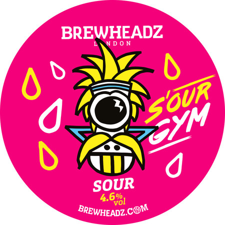 S'Our Gym - Sour Ale 4.6% // Brewheadz - With Christmas time comes lots of (often terrible) Christmas themed real ales. Brown twiggy beer that all have the same flavour profile.In an effort to buck this trend I tried to branch out in December and seek out a range of different styles. This sour, made to celebrate the first birthday of Brewheadz, was incredibly fruity. It is packed full of pineapple, mango, orange, and passion fruit flavours. Also apparently guarana was added ('to give you strength for your workout'), although I have no idea what that actually tastes like.I'm not sure hitting the gym after a few of these would be advised but it was definitely a refreshing change to Rudolph's Revenge and Winter Warmer and the like.