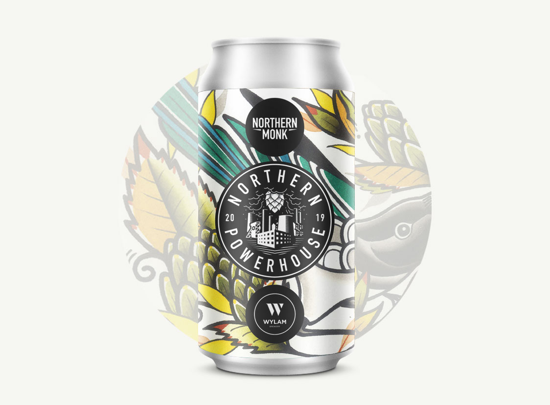 004 Tropical Sour IPA 6% // Northern Monk x Wylam - What they say: We teamed up with our Newcastle friends Wylam for this tropical sour IPA. Kettle-soured overnight and whirlpooled with Mosaic, we then added 200g/l of pureed tropical fruits and dry hopped with El Dorado and Citra.Expectations: Two hop-slingers making a very hoppy beer with a sour twist? Bring it on. Whilst I'd probably have preferred the sourness to be left out, I'm happy to give it a go.Reality: The sourness tempered my expectation but it needn't have as this is real good. It's more fruity than it is sour which is good and once the sharp fruit dissipates, the hop bitterness comes through and rounds out the taste. Also, it looks like a smoothie and poured like one.