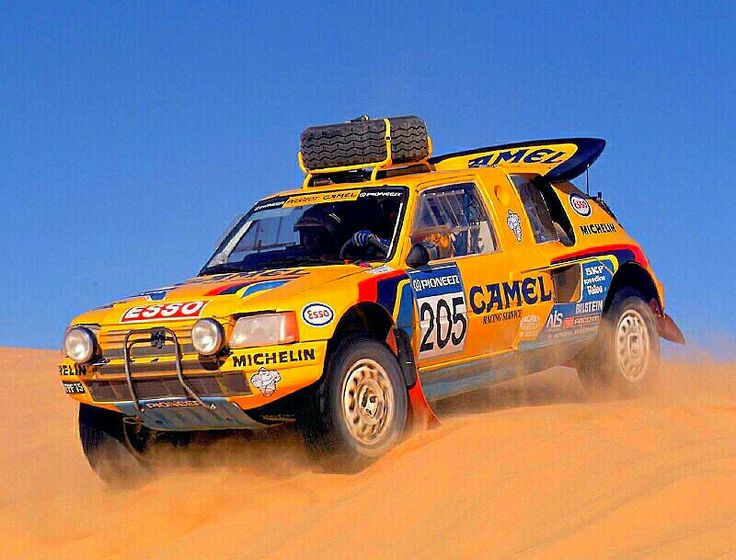 The real life version of the toy that sparked my interest in the Paris -Dakar...