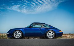 The Porsche 993 - The last of the air-cooled Porsche.
