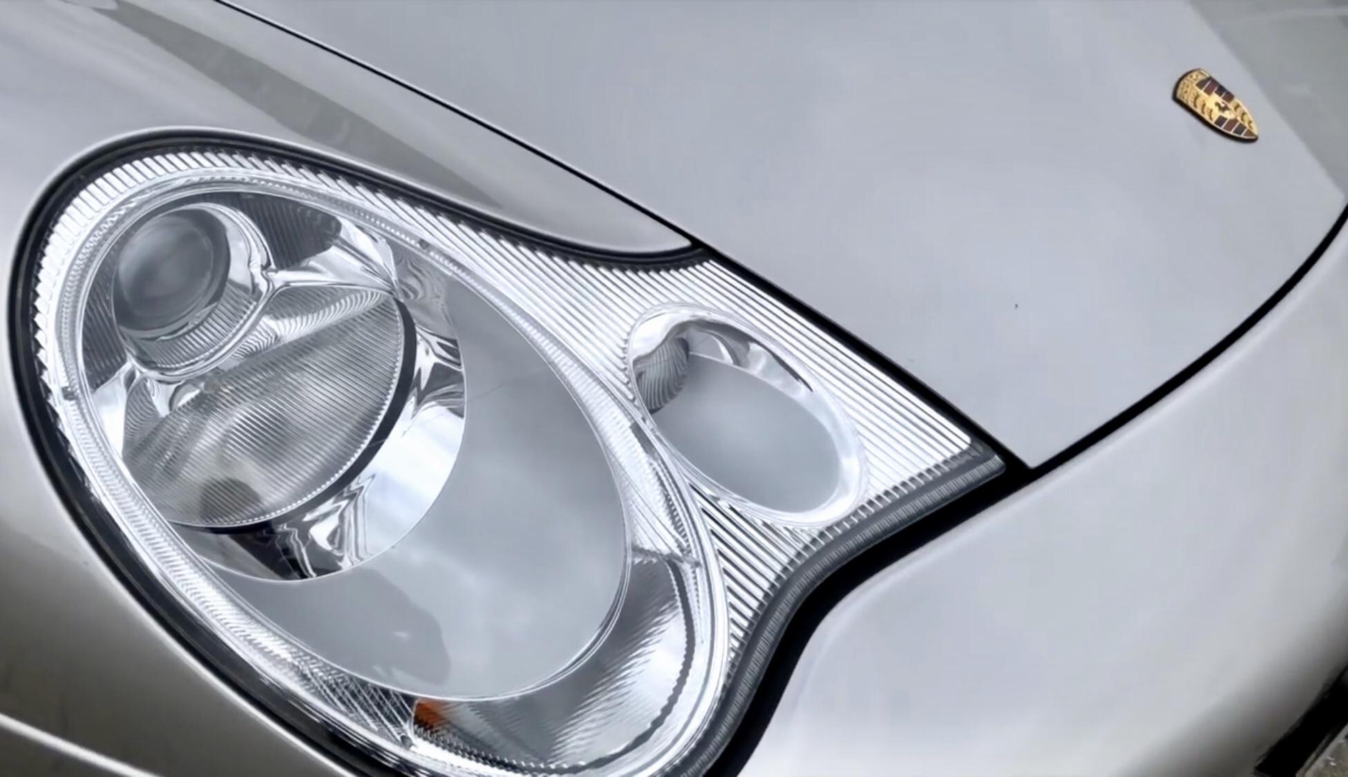 The lights that sent the Porsche world into meltdown.