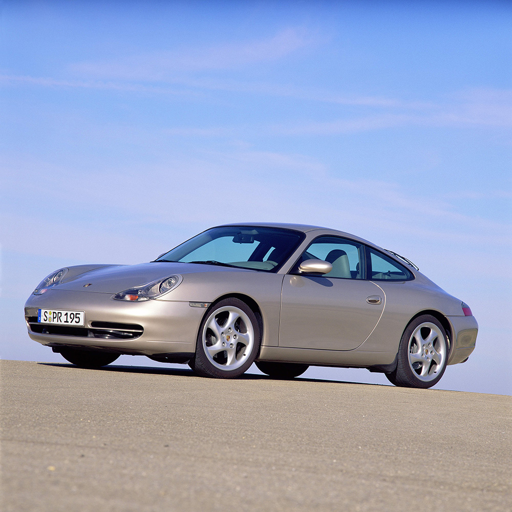 The 996 when originally shown to the world in 1997.