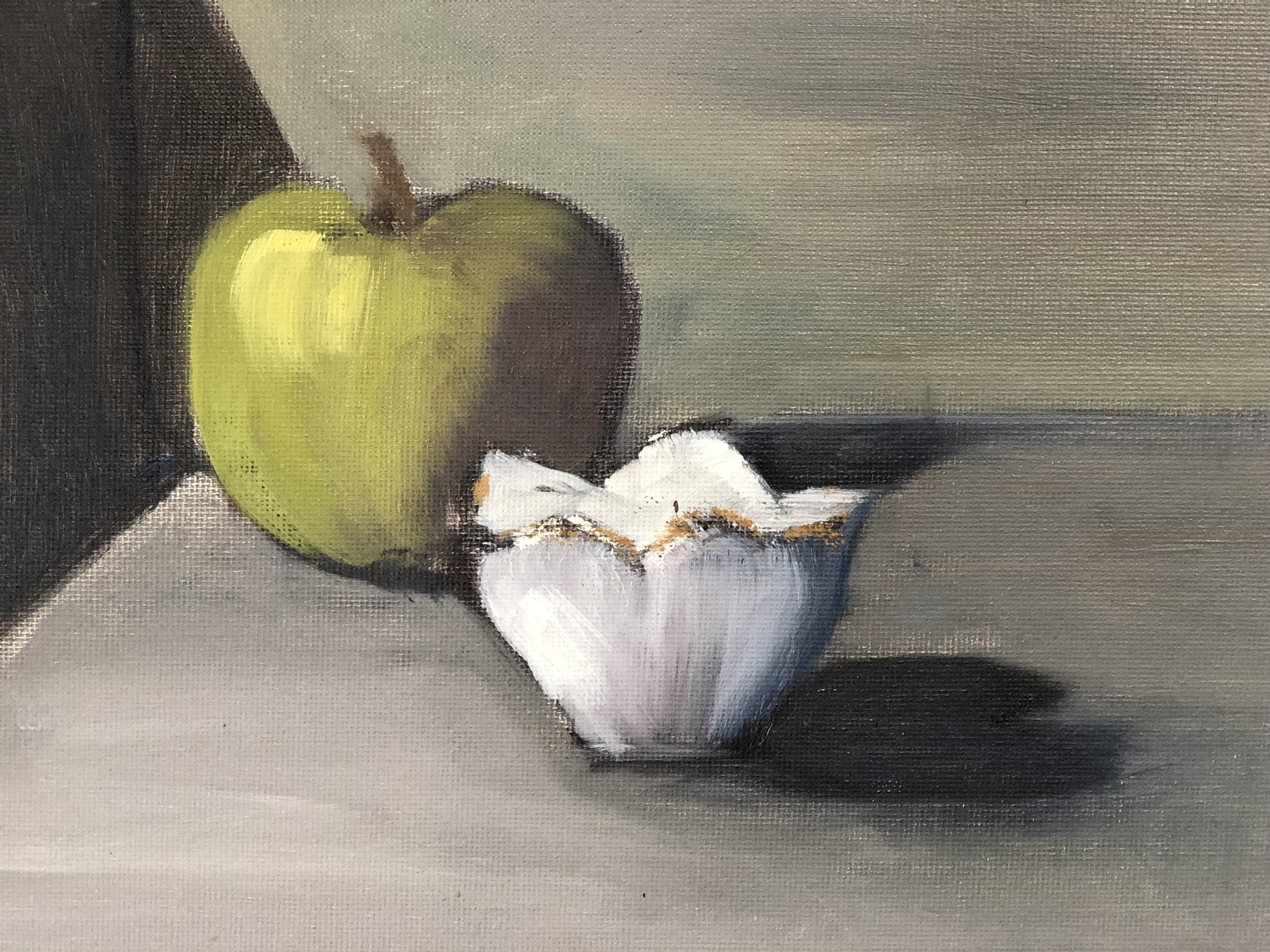 Apple and Lotus Bowl