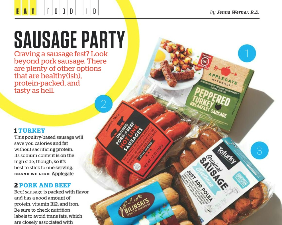 Muscle & Fitness: Sausage Party