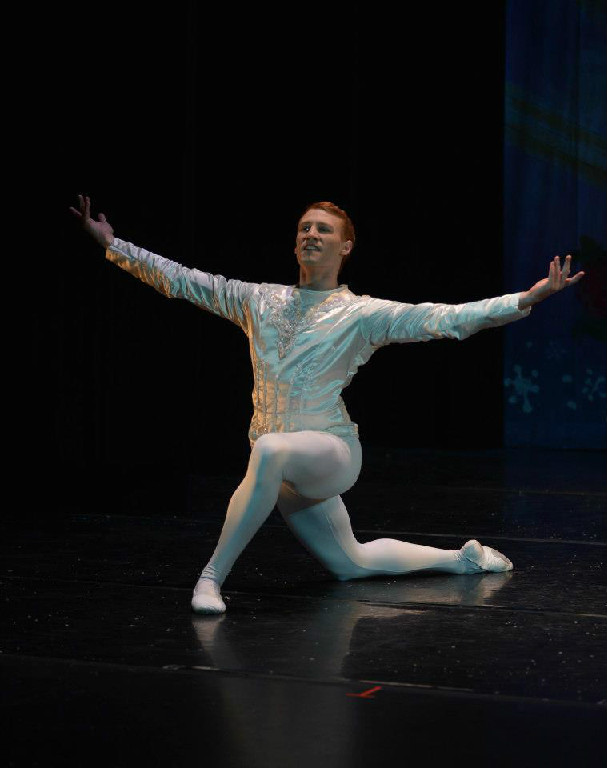 """Clara's Dream"" Sugar Plum Cavalier  City Center Ballet - Lebanon, NH"