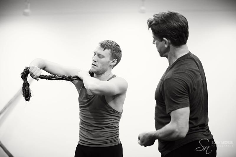 In rehearsal with Rioult Dance NY  Photo by Sofia Negron