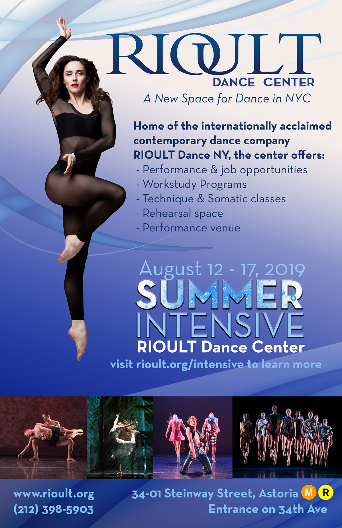 Rioult Dance NY Summer Intensive — Jere Hunt
