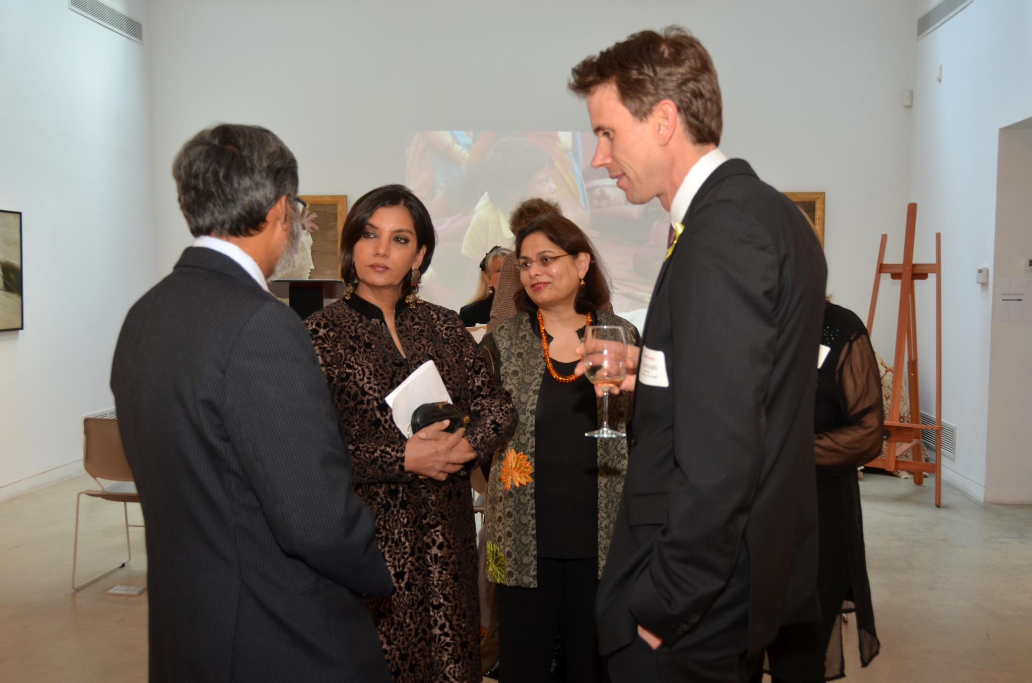 PP At Americares event with actress Shabana Azmi.jpg
