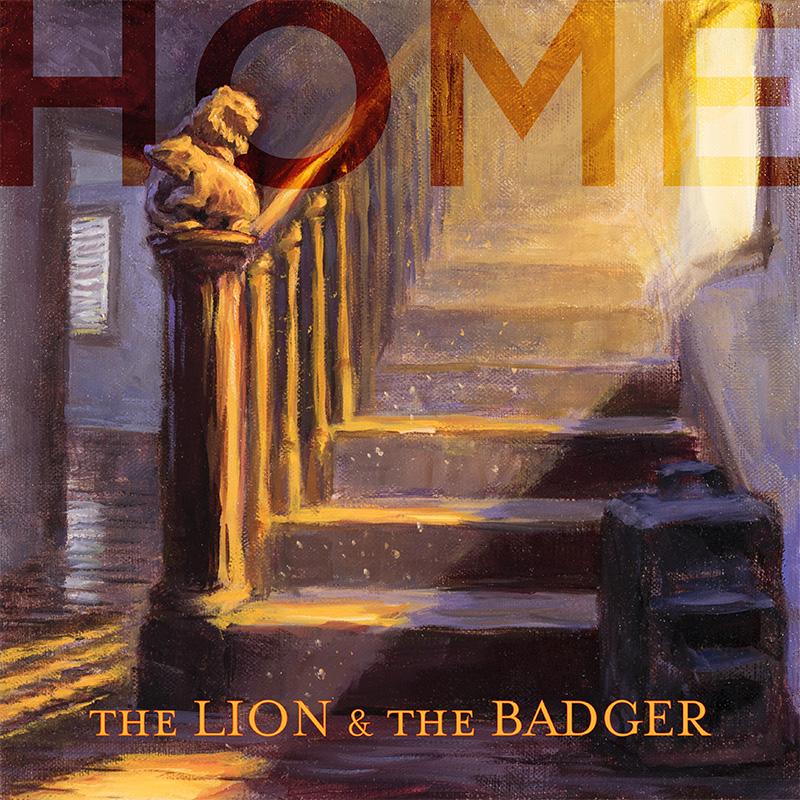 """""""Home"""" Album cover."""