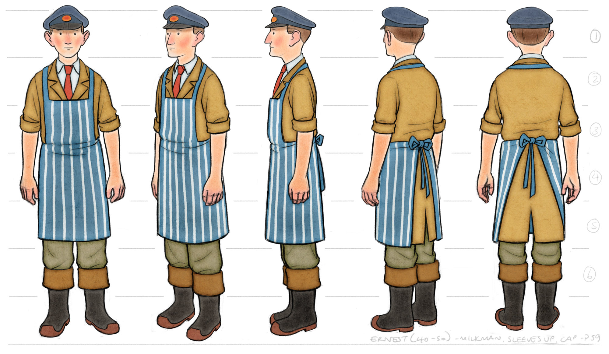 Ernest Colour Costume Design