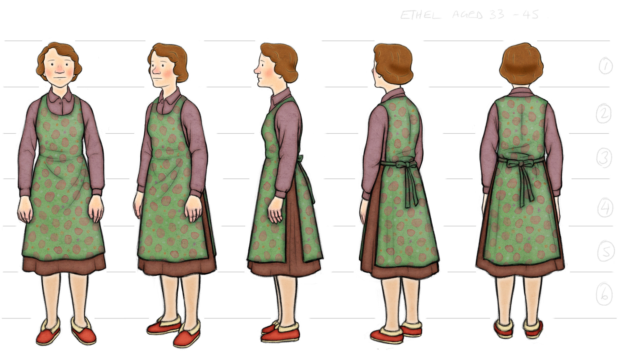 Ethel Colour Costume Design