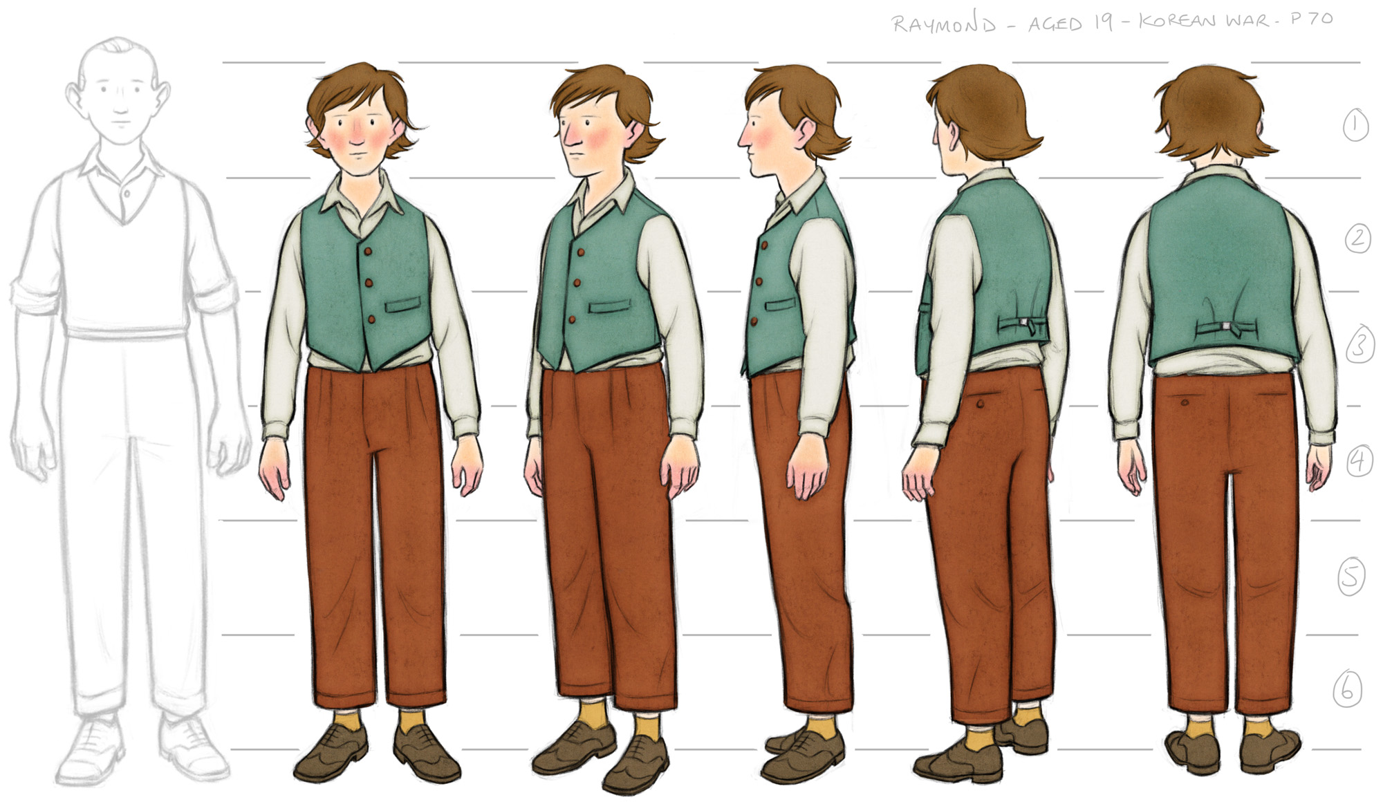 Raymond Colour Costume Design