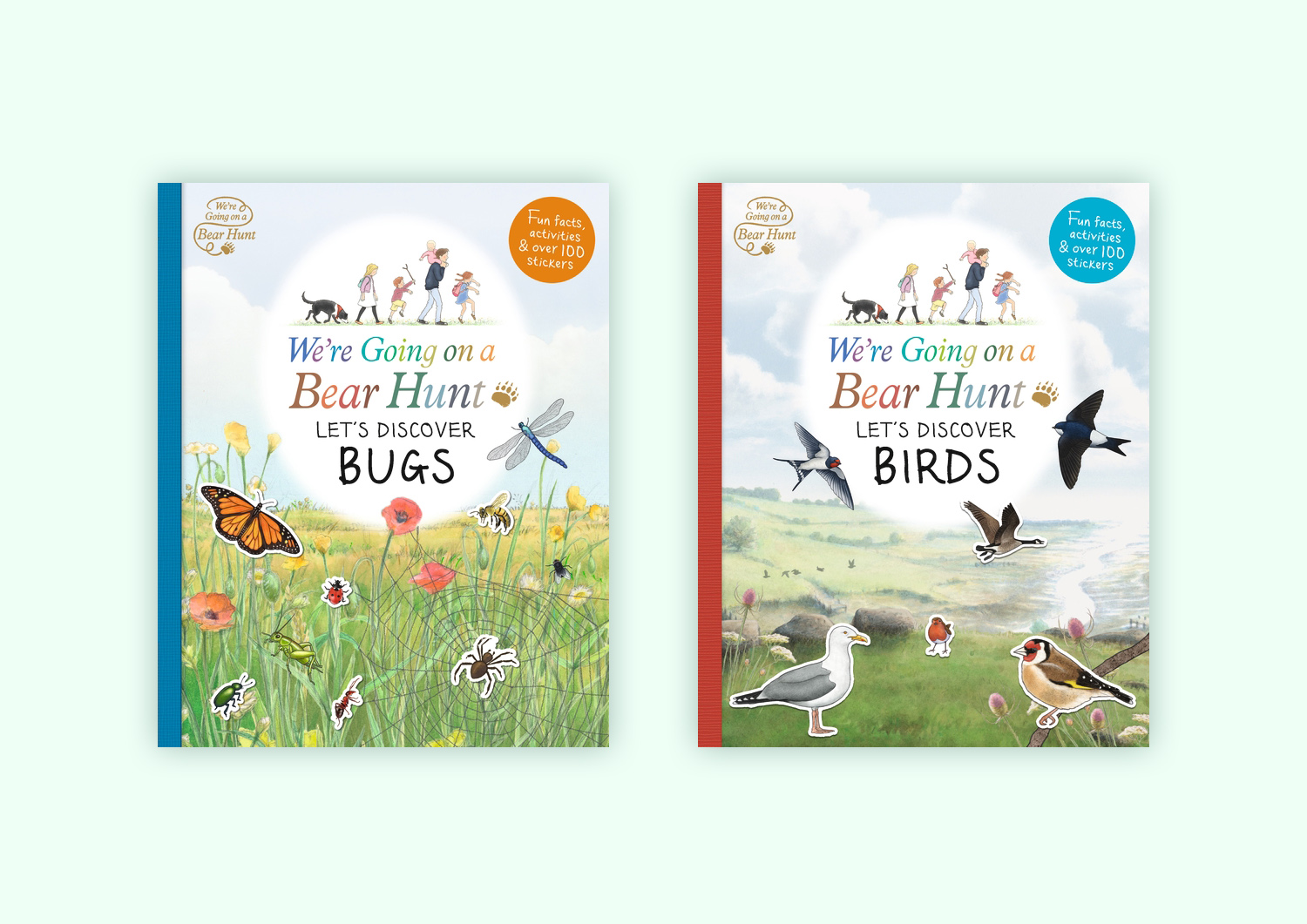 We're Gong on a Bear Hunt: Let's Discover Bugs & Birds