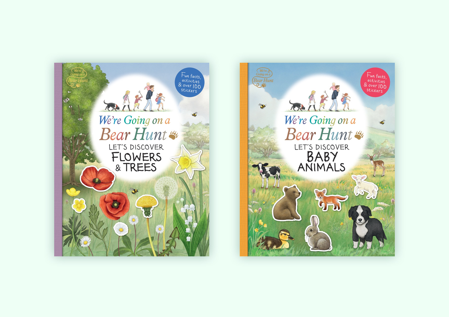 We're Going on a Bear Hunt: Let's Discover Flowers & Trees - Baby Animals