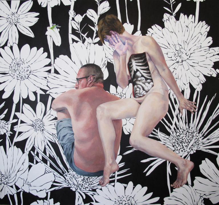 "[Yvette L. Cummings, A Myriad Of Moments, 2016, acrylic on canvas,71"" x 77""]"