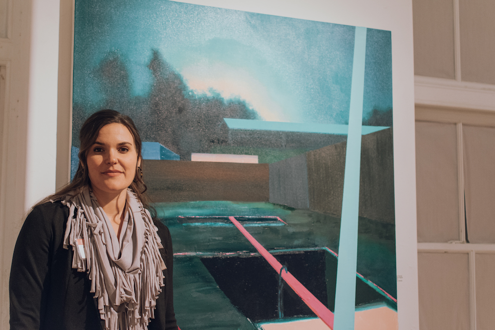701 CCA Prize 2018 Winner Jena Thomas, photo courtesy of Jamar Riley