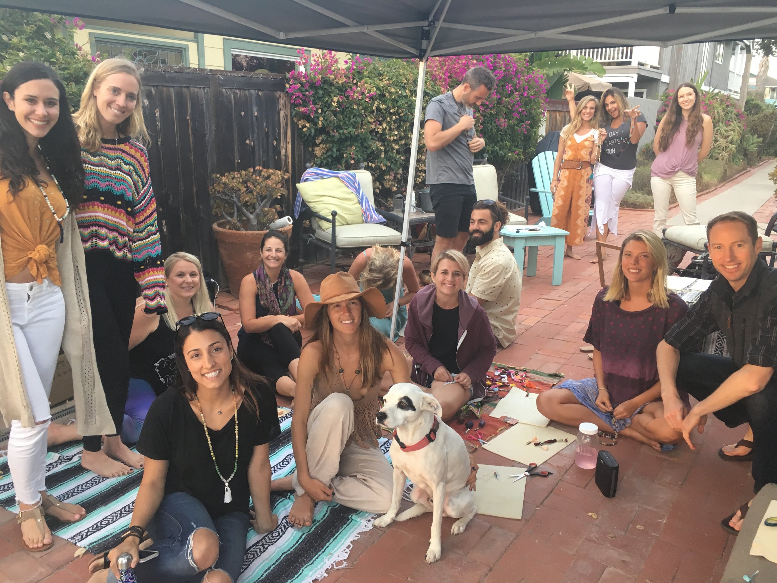 Cacao Ceremony and Mala Making Workshopjune 30, 2018  -