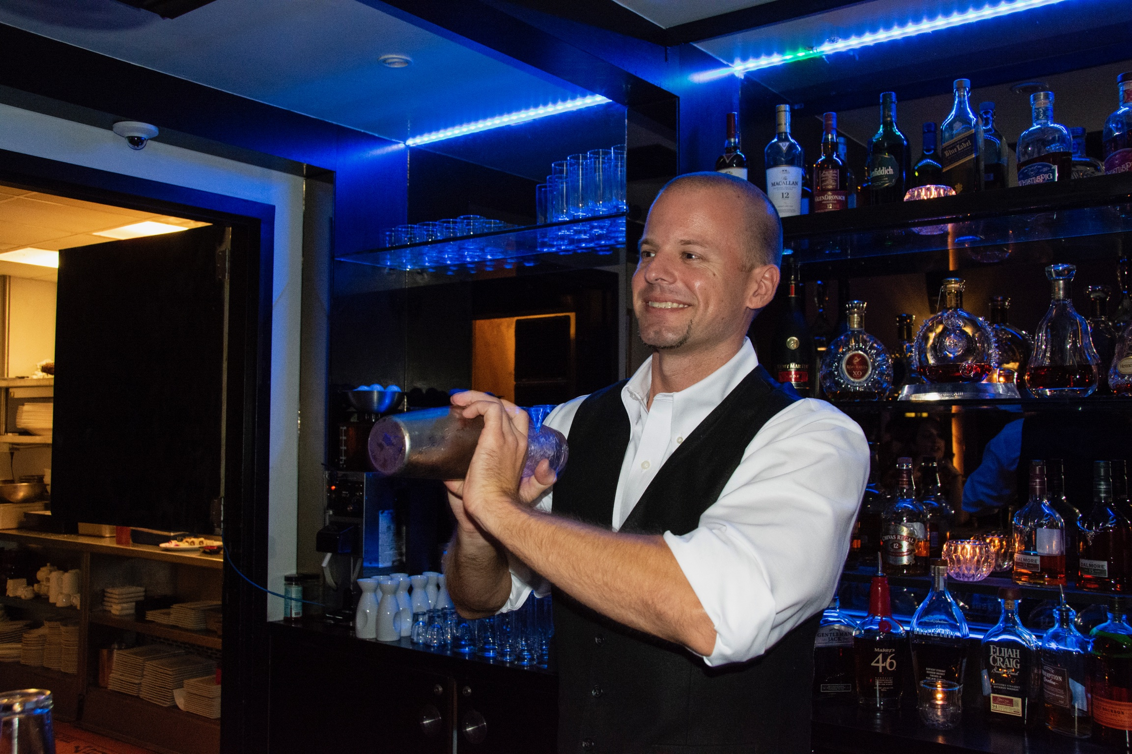 Bartender at SkyBar