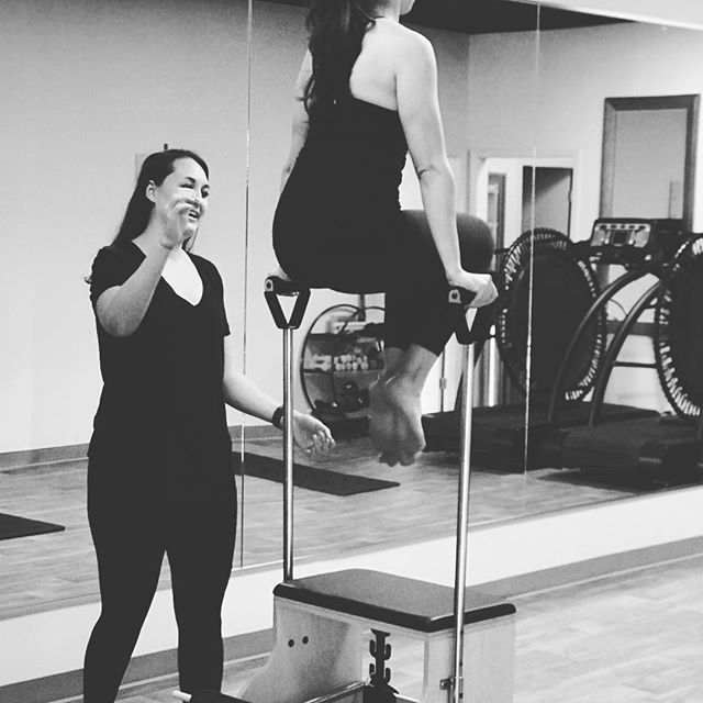 PRIVATE TRAINING ✨  We offer private/personal training at the studio for Pilates and Cardio/Strength training. Privates are great for individuals with injuries, expecting or postpartum mothers, and those who want a more individualized plan and attention.  Give us a call to schedule your private session 🌟
