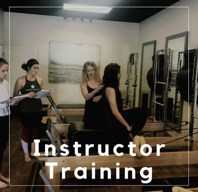 Did you know we offer Pilates Instructor Training at the studio? ⠀⠀⠀⠀⠀⠀⠀⠀⠀ ⠀⠀⠀⠀⠀⠀⠀⠀⠀ We offer courses in Anatomy, Biomechanics, Posture Analysis, Mat, Pilates, Chair, Cadillac, and Barrels. ⠀⠀⠀⠀⠀⠀⠀⠀⠀ ⠀⠀⠀⠀⠀⠀⠀⠀⠀ We have an informational meeting this Saturday, September 7th at 2pm at the studio. We can answer any questions and give you a better idea of what the training looks like and we hope to see you there! ⠀⠀⠀⠀⠀⠀⠀⠀⠀ ⠀⠀⠀⠀⠀⠀⠀⠀⠀ @kristymckinney_pilates @marghartv
