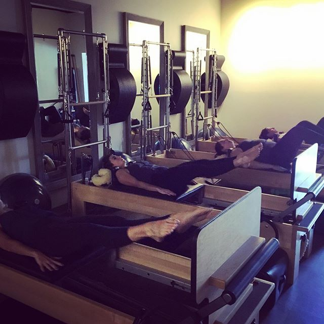 We love the jumpboard!  It gets your heart rate up, works on your coordination, and gain strength throughout your whole body.  What is your favorite prop we use on the Reformer?
